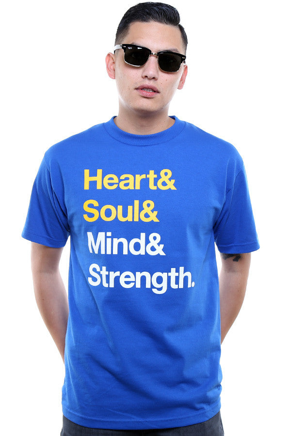 Heart & Soul (Men's Royal Tee)