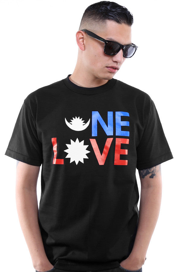 One Love :: Nepal Earthquake Relief (Men's Black Tee)