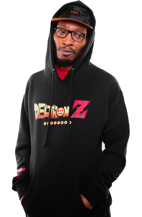 Deltron X Adapt :: Deltron Z (Men's Black Hoody)