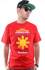 Ashley Vee x Adapt :: Weather Forecast (Men's Red Tee)