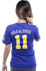 Gold Blooded Royalty :: 11 (Women's Royal V-Neck)