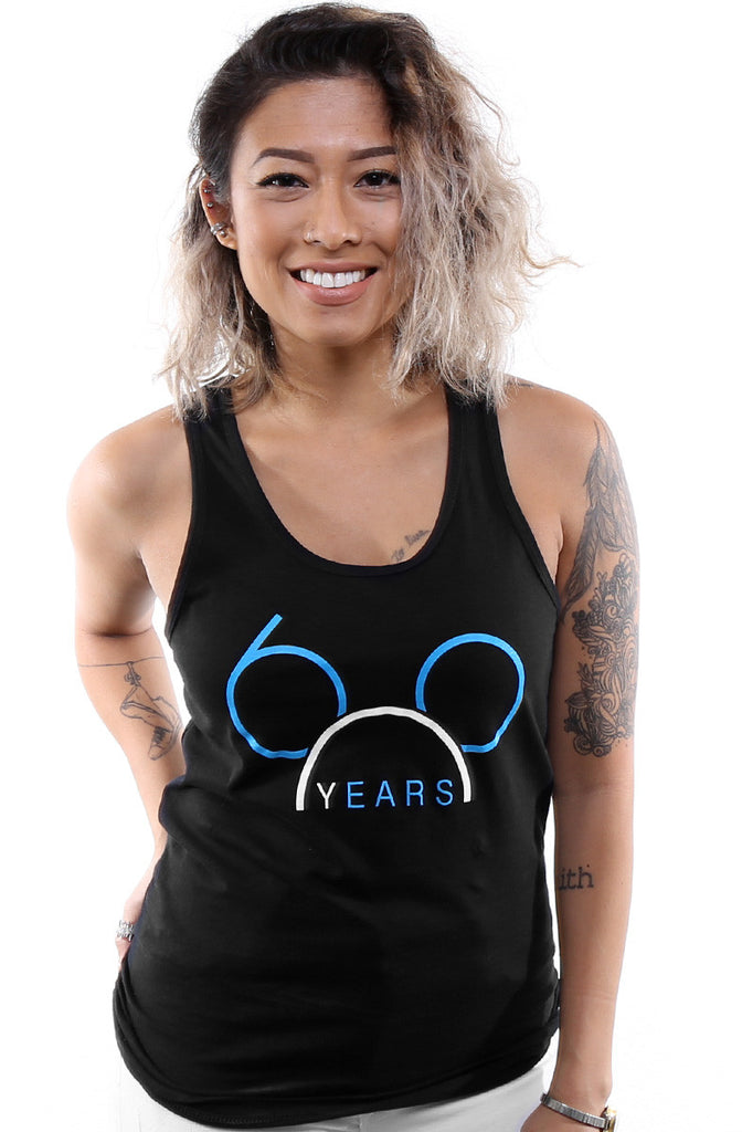 LAST CALL - 60 Years (Women's Black Tank Top)