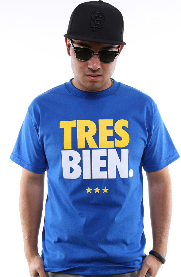 Tres Bien (Men's Royal Tee)