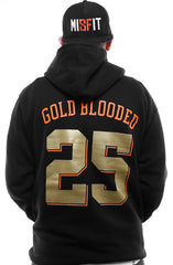 LAST CALL - Gold Blooded Kings :: 25 (Men's Black Hoody)