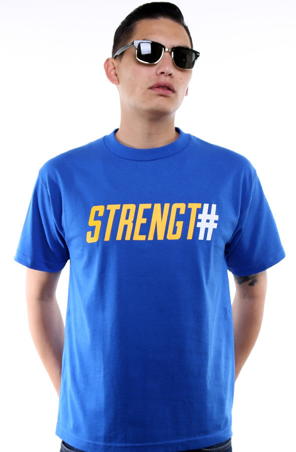 Strength In Numbers (Men's Royal Tee)