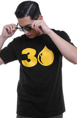 Drop 30 (Men's Black Tee)