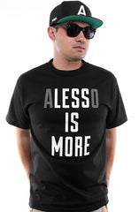 Less Is More (Men's Black Tee)