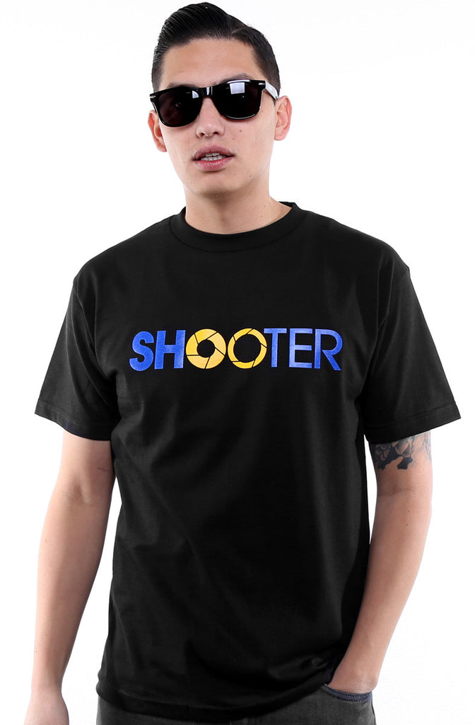 Satostudios x Adapt :: Shooter (Men's Black/Royal Tee)