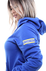 Gold Blooded Royalty :: 30 (Women's Royal Hoody)