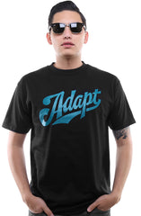 Home Team (Men's Black/Teal Tee)
