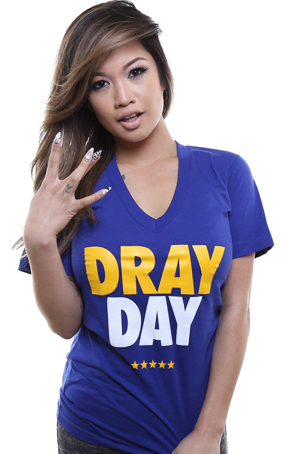 Dray Day (Women's Royal V-Neck)