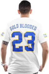 Gold Blooded Royalty :: 23 (Men's White Tee)