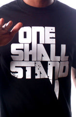 One Shall Stand (Men's Black Tee)