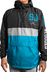 SAVS X Adapt :: Cold Blooded II SE (Men's Black/Teal Anorak Jacket)