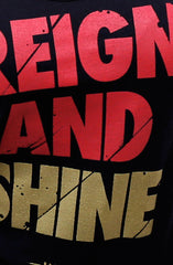 Reign and Shine (Women's Black Tank Top)
