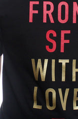 Fully Laced X Adapt :: From SF With Love (Men's Black/Gold Tee)