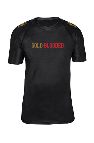 KNOXX X Adapt :: Gold Blooded (Black Rashguard)