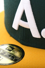 New Era X Adapt :: A-Type (Green/Gold 59/50 Fitted Cap)