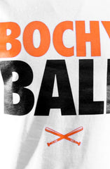 Bochy Ball (Men's White Tee)