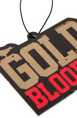 Gold Blooded (Black/Gold Air Freshener)