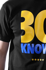 30 Knows (Men's Black Tee)