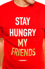 Kyle Williams X Quinton Patton X Adapt :: Stay Hungry (Men's Red Tee)