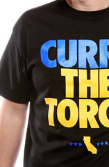 Curry The Torch (Men's Black Tee)