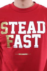 Steadfast (Men's Cardinal/Gold Tee)