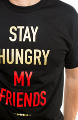 Kyle Williams X Quinton Patton X Adapt :: Stay Hungry (Men's Black Tee)