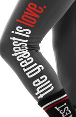 Great Love (Women's Asphalt Leggings)