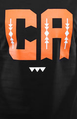Cukui X Adapt :: CA (Men's Black/Orange Tee)