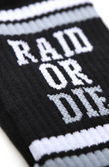 Raid Or Die (Black Socks)