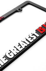 Great Love (License Plate Frame)