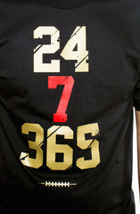 Colin Kaepernick X Adapt :: 247 (Men's Black Tee)
