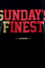 Sunday's Finest (Men's Black/Gold Tank)