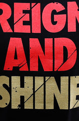 Reign and Shine (Men's Black Tee)