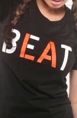 Beat LA (Women's Black/Orange Tee)