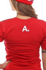 CTA (Women's Red V-Neck)