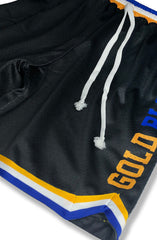 SAVS x Adapt :: Gold Blooded Chiefs (Men's Black/Royal Mesh Game Shorts)