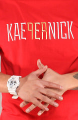 Colin Kaepernick X Adapt :: Kae9ernick (Men's Red Tee)