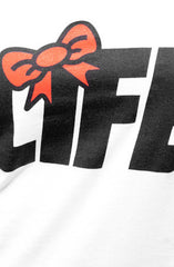 Ashley Vee x Adapt :: Life (Women's White/Red V-Neck)