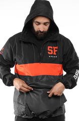 SAVS X Adapt :: State of Mind (Men's Black/Slate Anorak Jacket)