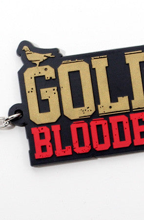 Gold Blooded (Black/Gold Keychain)