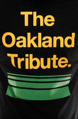 The Oakland Tribute (Men's Black Hoody)