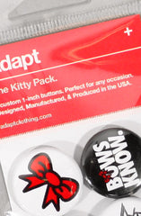 Ashley Vee X Adapt :: Kitty (Button 4-Pack)