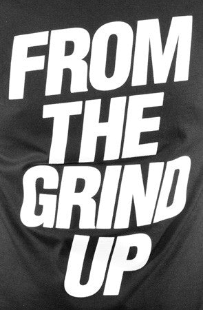 E 40 X Adapt From The Grind Up Men S Black Tee Adapt