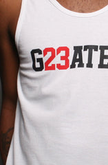 Greatest (Men's White Tank)