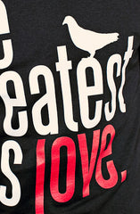 Great Love (Men's Black Tee)
