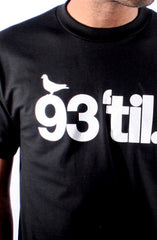 Hieroglyphics X Adapt :: 93 'til (Men's Black Tee)