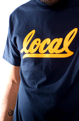 Local II (Men's Navy/Gold Tee)